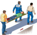 Можно ли двигать пострадавшего, если у него травмы???